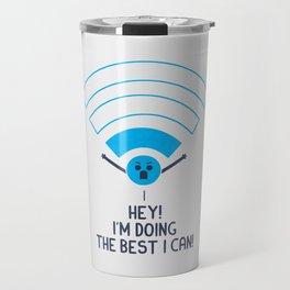 Angry Wifi Travel Mug