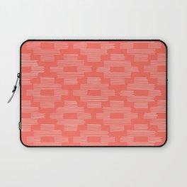 Coral Birdseye Pattern Laptop Sleeve