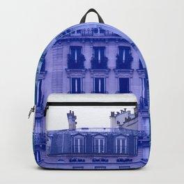 Colorful Paris Buildings Backpack