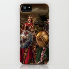 Ancient SUPERCORP iPhone Case