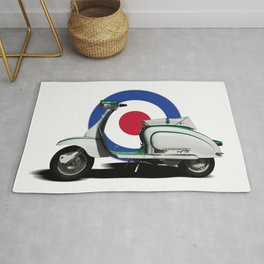 Mod scooter Rug