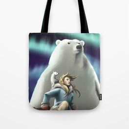 Lyra of the Golden Compass Tote Bag