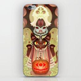 Trick-or-Treat Totem iPhone Skin