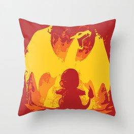 Charizard Evolution Throw Pillow