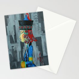 Nomadess in New York Stationery Cards