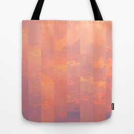 Abstract Sunset Colors Tote Bag