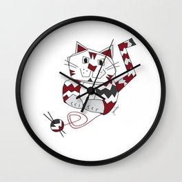 Angus Knits Wall Clock