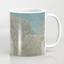 Claude Monet Painting Coffee Mug