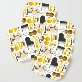 Jazz instruments Coaster