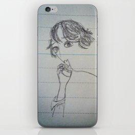 self-portrait iPhone Skin