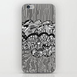 InSearch: Finding a connection iPhone Skin