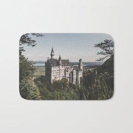 Neuschwanstein fairytale Castle - Landscape Photography Bath Mat