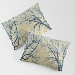 Trees nature infrared Pillow Sham