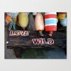 Love Wild Baby :-)) Canvas Print