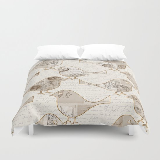 Send me a letter! Duvet Cover