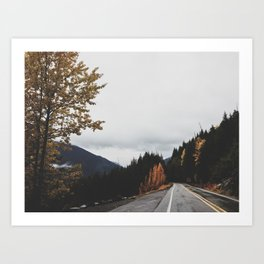 Mt. Rainer National Park Art Print