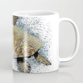 Sea turtle swimming Coffee Mug