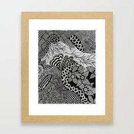 Henna Framed Art Print