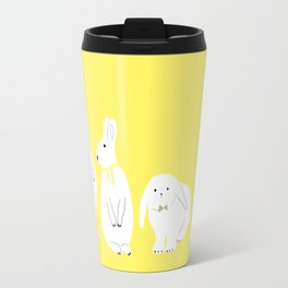 cute bunnies Travel Mug
