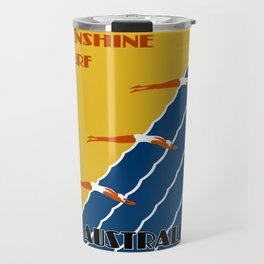 Vintage Australia Travel - Swimmers Travel Mug
