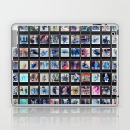 128 Sexy Polaroids in Negative Laptop & iPad Skin