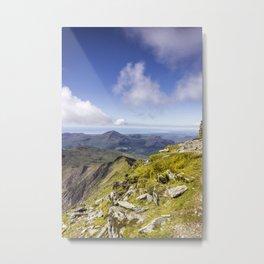 Snowdon To Anglesey Metal Print