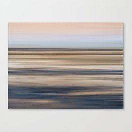 Abstract Shore Line Canvas Print