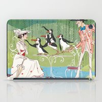 mary poppins iPad Cases featuring Mary Poppins by Lesley Vamos