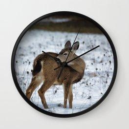 First Winter Wall Clock
