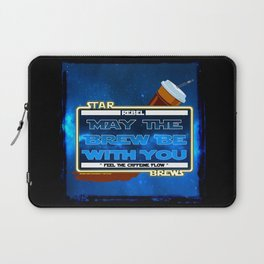 May the Brew be with You - The Coffee Wars - Jeronimo Rubio Photography and Art 2016 Laptop Sleeve
