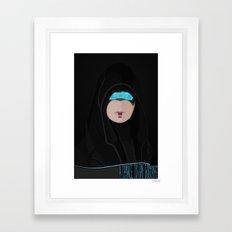 spectr.es: Kasumi Framed Art Print