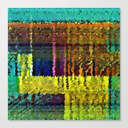 Spectral Analysis Canvas Print