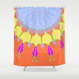 Spring fling Dream Catcher Shower Curtain