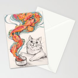 Wishes for Fishes Stationery Cards