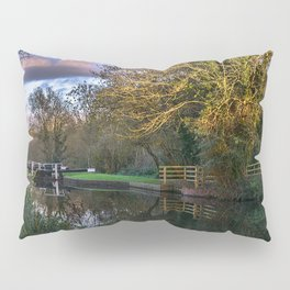 Autumn Reflections On The Kennet Pillow Sham