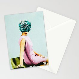 'Forever her diamonds' Stationery Cards