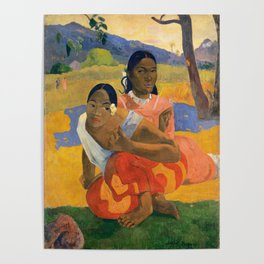 Affordable Art $300,000,000 When Will You Marry by Paul Gauguin Poster