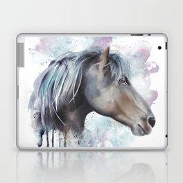 Watercolor Horse Head Laptop & iPad Skin