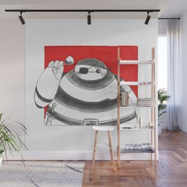 What if Baymax was a Pirate Wall Mural
