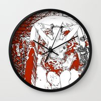 apollonia Wall Clocks featuring asc 370 - La fin (There's no way back) by From Apollonia with Love