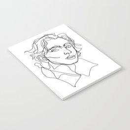 Timothée Chalamet Notebook