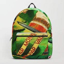 Rare 1930's Vintage Par Monts Toujours Cinzano Advertisement Poster Backpack