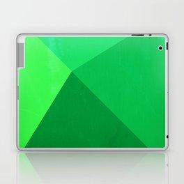 Pyramid - Green Laptop & iPad Skin