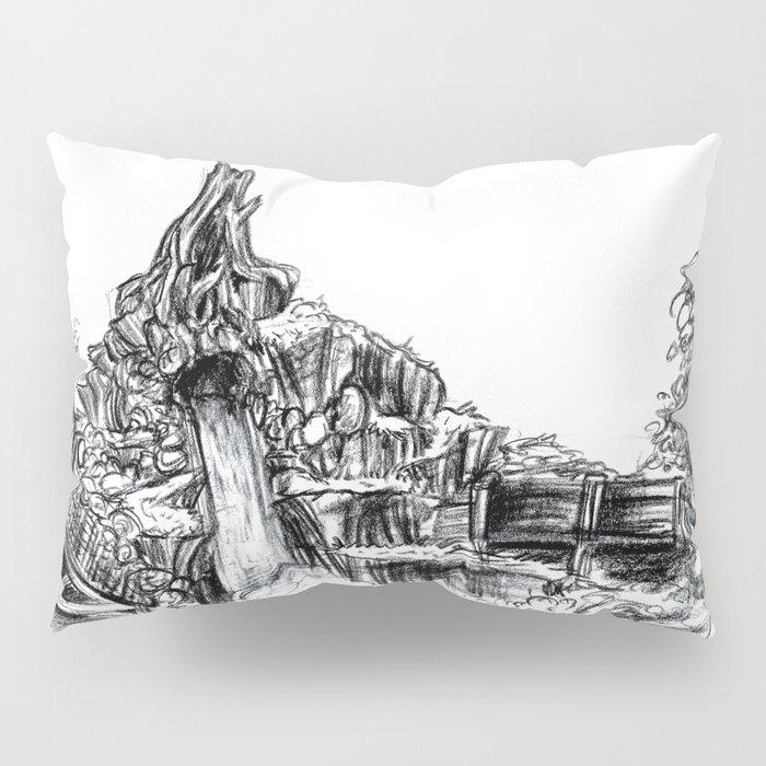 Splash Mountain Pillow Sham
