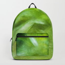 Purple poppy - photo painting Backpack