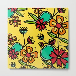 Flower Posy Metal Print