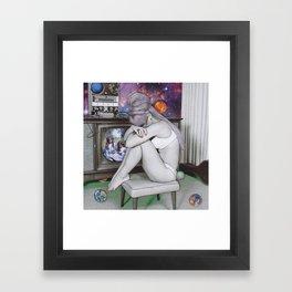 Memories of a space cadet Framed Art Print