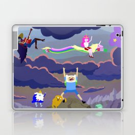 AT character spread Laptop & iPad Skin