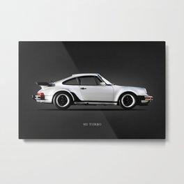 The 911 Turbo Metal Print