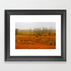 Little Valley Framed Art Print